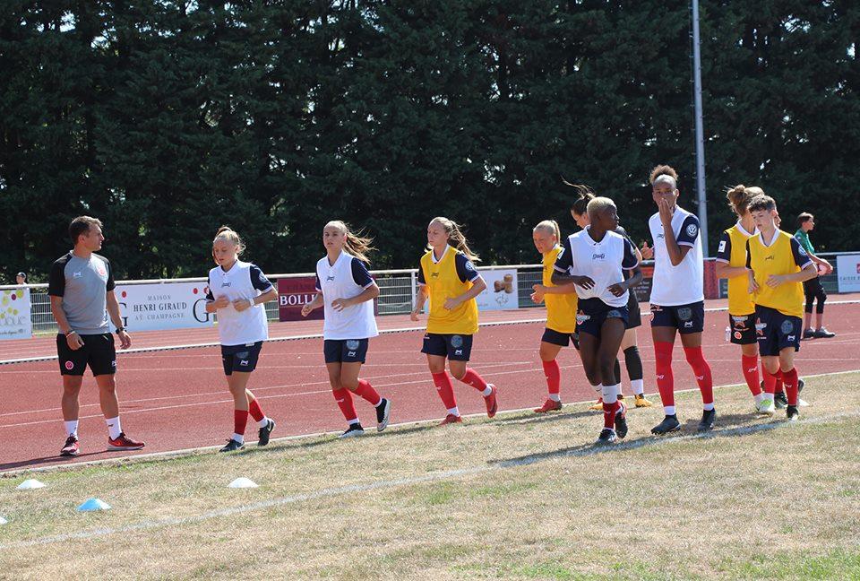 Le Programme De La Preparation Du Stade De Reims Feminin Pour La