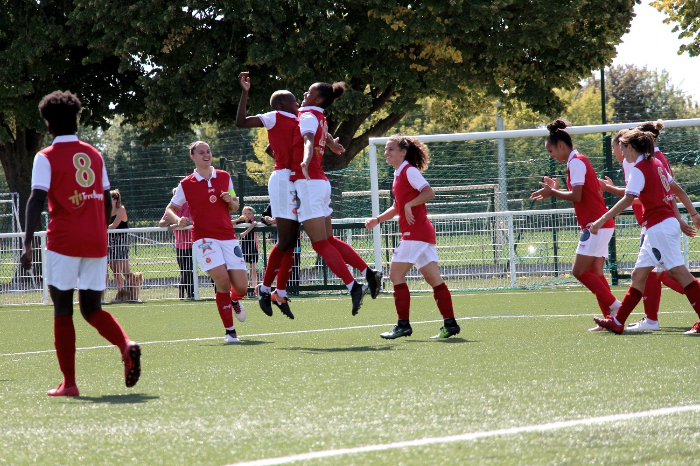 Le Stade De Reims Feminin Ira A Caen Sport Club