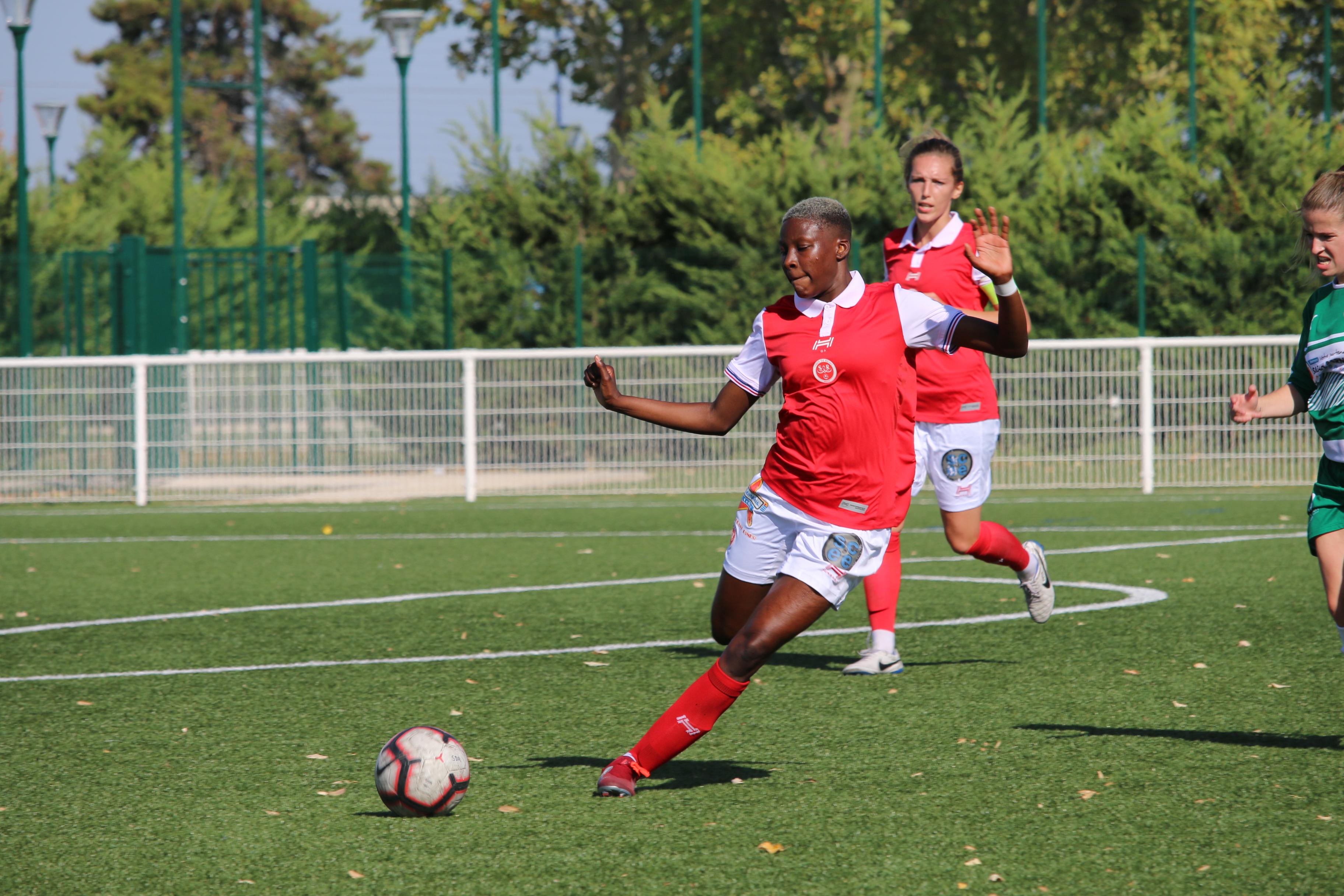 Le Stade De Reims Feminin Contre Jeanne D Arc Drancy Sport Club