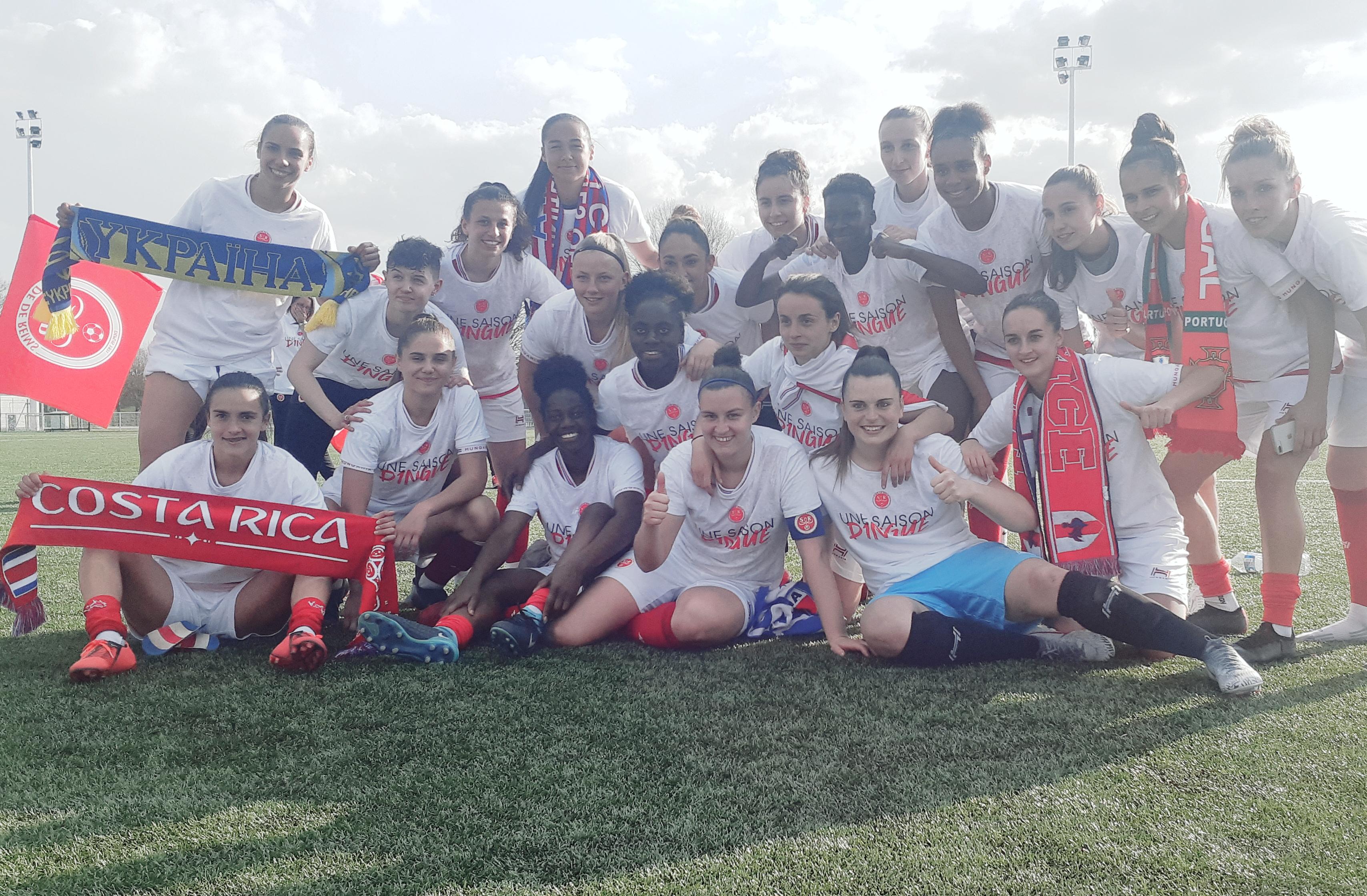 Le Stade De Reims Feminin En D1 Malgre Sa Premiere Defaite Sport Club